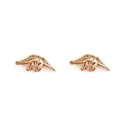 DINOSAUR - Stegosaurus Stud Earrings - Vanilla Vice