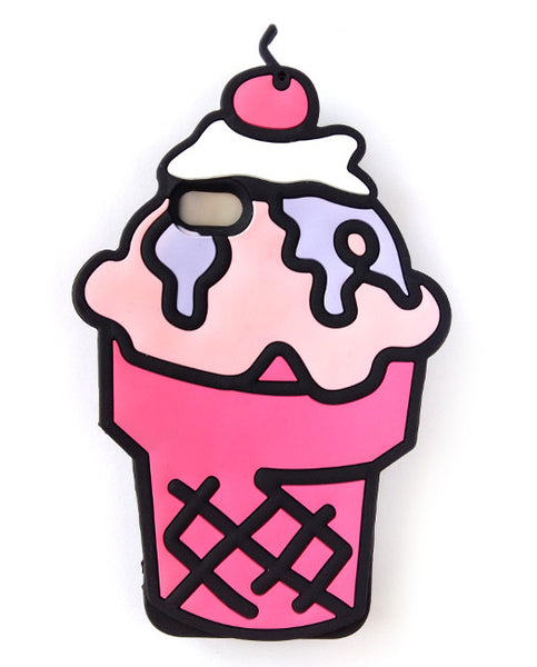 ICE CREAM - iPhone Case