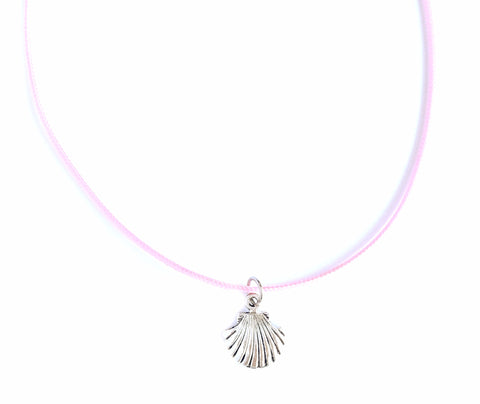 MERMAID SHELL - Pink Choker