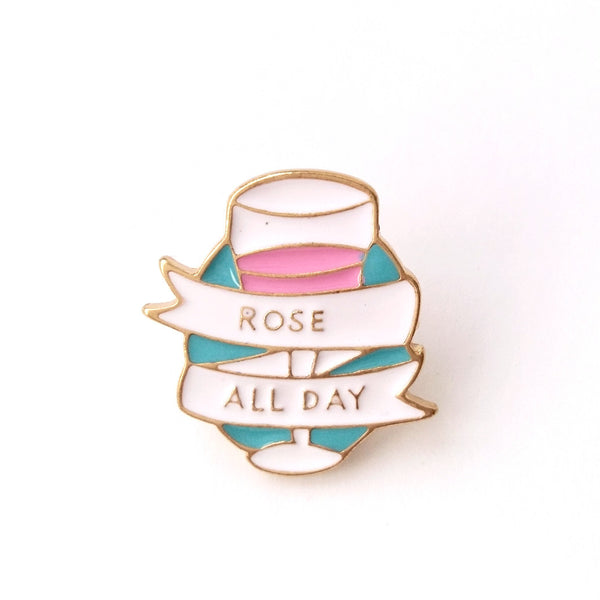 ROSÉ ALL DAY - Pin
