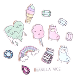 HAPPY AF - Stickers - Vanilla Vice