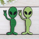 ALIENS ARE MY FRIENDS - Patch