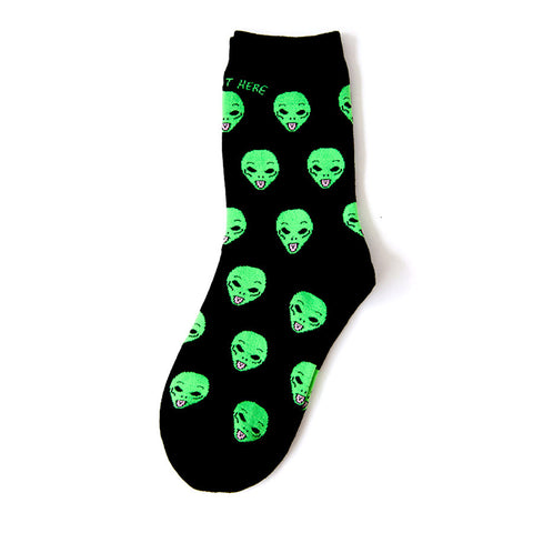 ALIEN LIFE - Ankle Socks