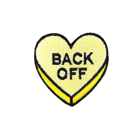 BACK OFF - Patch - Vanilla Vice