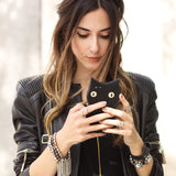 LUCKY BLACK CAT - iPhone Case
