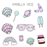 CUTE STUFF - Stickers - Vanilla Vice