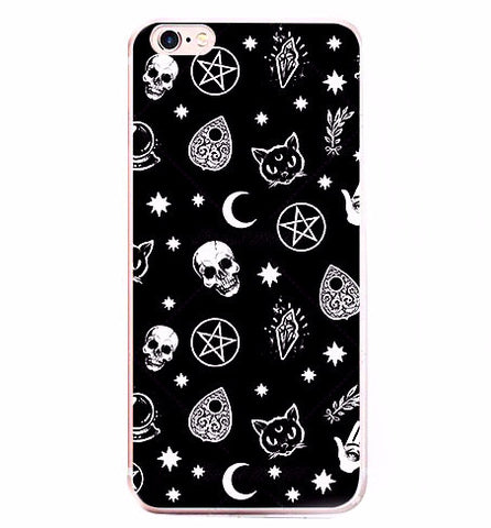 DARK MOOD - Soft iPhone Case