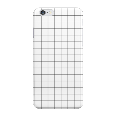 WHITE GRID - Phone Case - Vanilla Vice