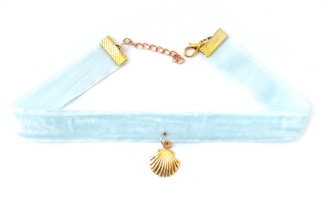 MERMAID - Velvet Choker - Vanilla Vice