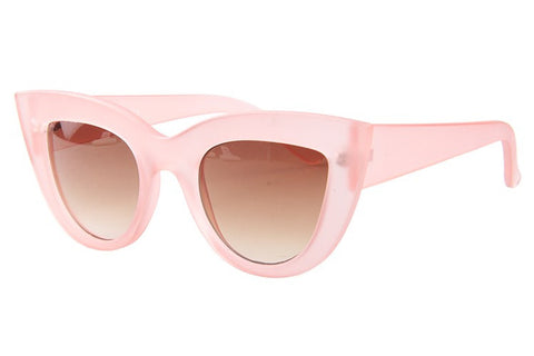 MIAMI - Cat Eye Sunglasses - Vanilla Vice