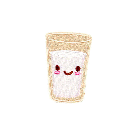 HAPPY GLASS OF MILK - Patch