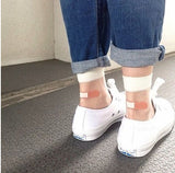 OUCH! - Transparent Band-Aid Socks