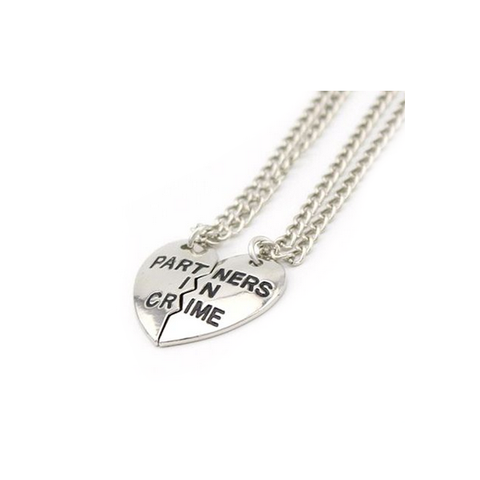PARTNERS IN CRIME - Necklace Set - Vanilla Vice