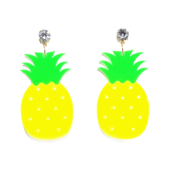 PINEAPPLE - Earrings - Vanilla Vice