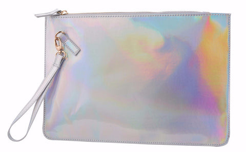 HOLO QUEEN - Silver Clutch
