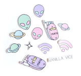 SPACE OUT - Stickers - Vanilla Vice