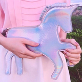 HOLOGRAPHIC UNICORN - Clutch