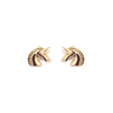 GOLD UNICORN - Stud Earrings - Vanilla Vice