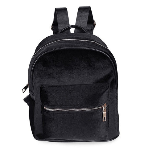 BLACK VELVET - Mini Backpack