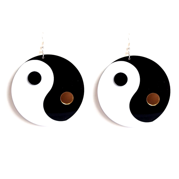 YIN YANG - Statement Earrings - Vanilla Vice