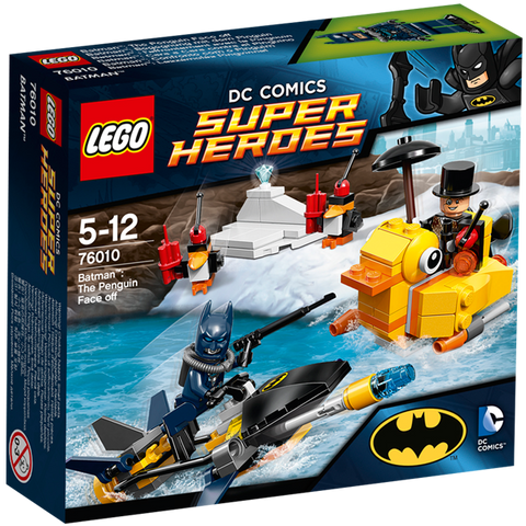 Batman- The Penguin Face off 76010