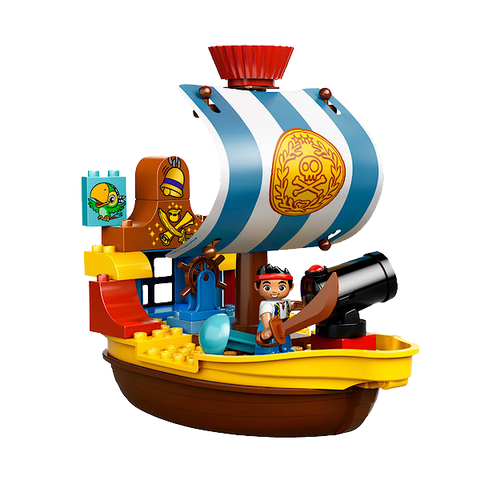 Lego Duplo Jake's Pirate Ship - 10514