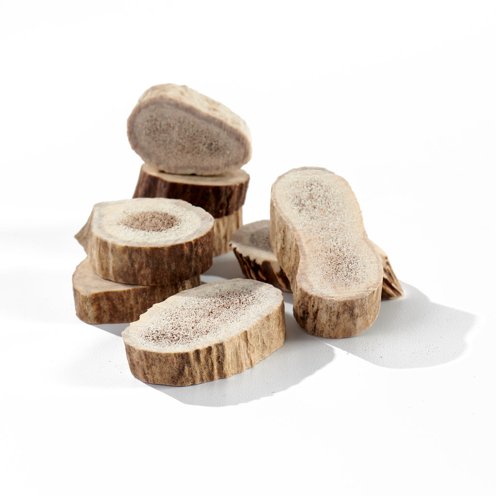 Elk Antler Round Cookie Chews - 8 Pack