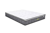 Life Perfect Sleep Pocket Coil with Pillow Top Mattress in a Double\Full