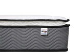 Life Perfect Sleep Pocket Coil with Pillow Top Mattress in a King