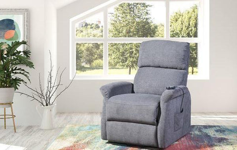 Elevated 9009 - Power Reclining/Lift Chair - Grey