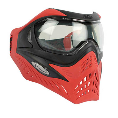 V-FORCE GRILL MASK black on red
