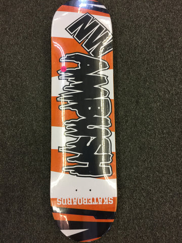 NW AMBUSH SKATEBOARD DECK