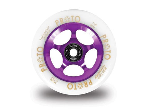 Proto-Gripper 110MM White on Purple