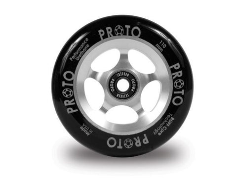 PROTO - Slider 110mm (Black on Silver)