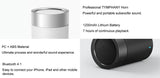 Original Xiaomi Bluetooth Speaker Cannon2 Metal Wireless Speakers Subwoofer Handsfree MIC HiFi Portable For Redmi 4X Mi5 Mi6