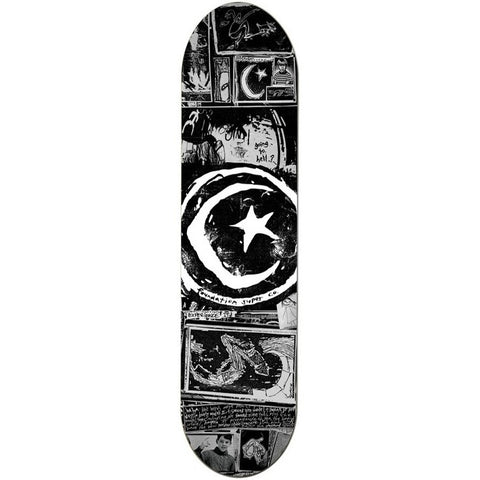 FOUNDATION SKATEBOARDS STAR AND MOON ZINE DECK (8.5)