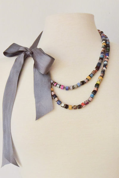 """Twin Tides"" Necklace"