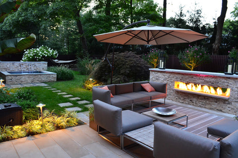 If All You Do While Watching AMCu0027s Mad Men Is Lust After Their Homes,  Furniture And Clothing Then A Modern Landscape Is For You. Modern Garden  Design Has ...