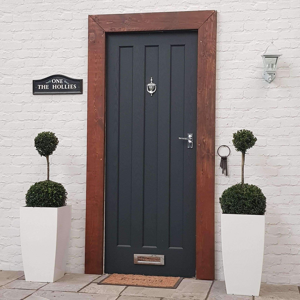 TWO Buxus Ball Duo Inc Choice of Luxury Planter Complete