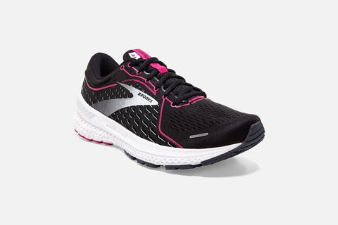 Brooks Adrenaline GTS 21 Womens Black/Raspberry Sorbet/Ebony