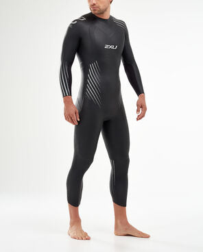 2XU P:1 Propel Wetsuit 2020 Men's Black/Silver Shadow