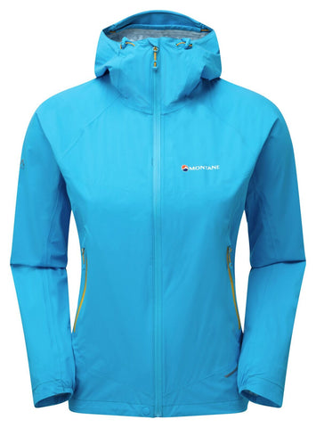 Montane Minimus Stretch Ultra Jacket Womens Cerulean Blue