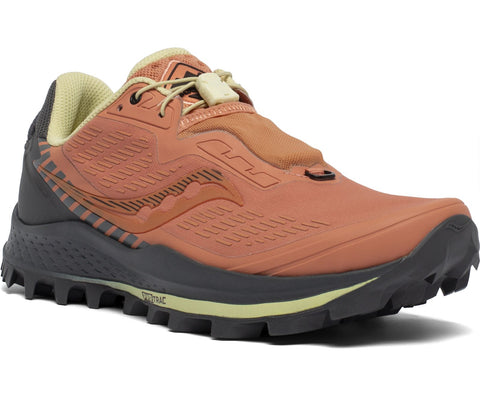 Saucony Peregrine 11 ST Womens  - Rust / Charcoal