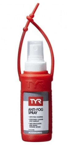 TYR Anti Fog Spray + carrying case