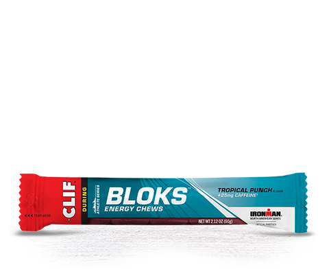 Clif Shot Bloks Tropical Punch ( Caffiene )