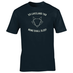 Lakeland 50 & 100 Ultra T - None Shall Sleep (Unisex)