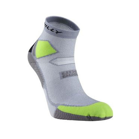 Hilly Skyline Anklet Sock Unisex Grey/Green