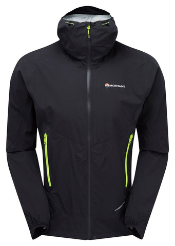 Montane Minimus Stretch Ultra Jacket Mens Black + FREE Minimus Cap