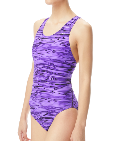 TYR Hydra Maxfit Performance Swimsuit Purple 2020