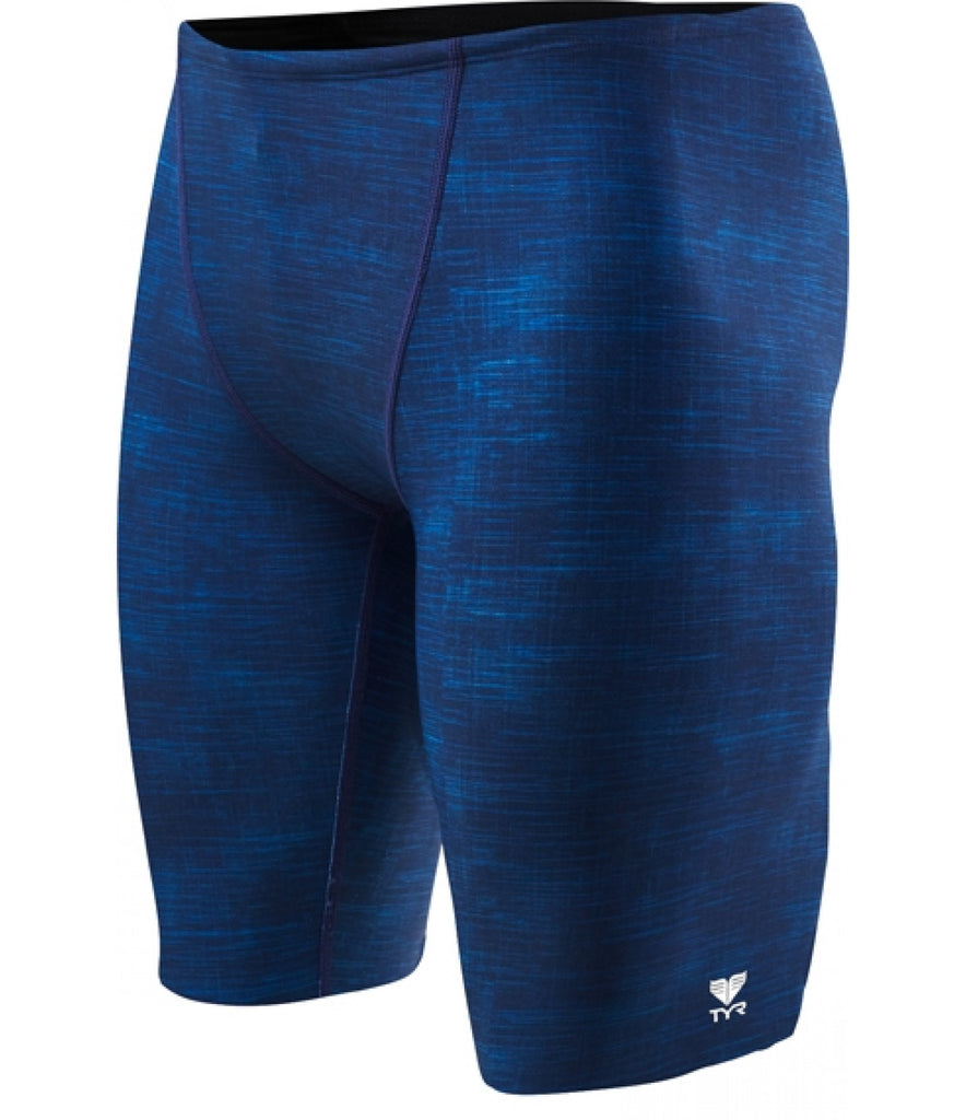 TYR Sandblasted Allover Jammer Navy